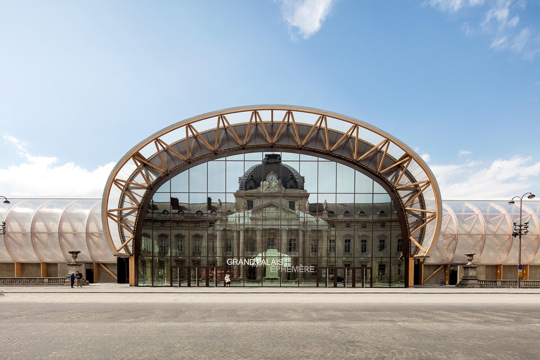 Grand Palais Ephémère — © 2020, Pierre Pierre