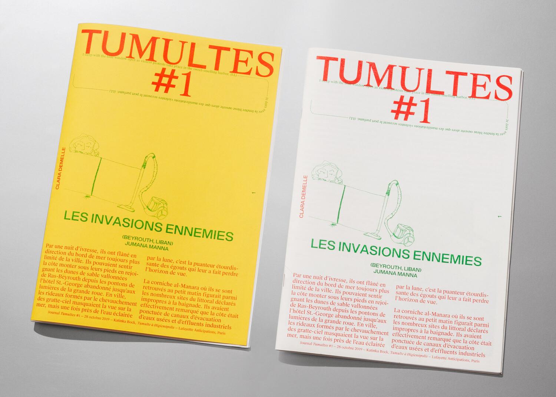 Tumultes — © 2019, Pierre Pierre